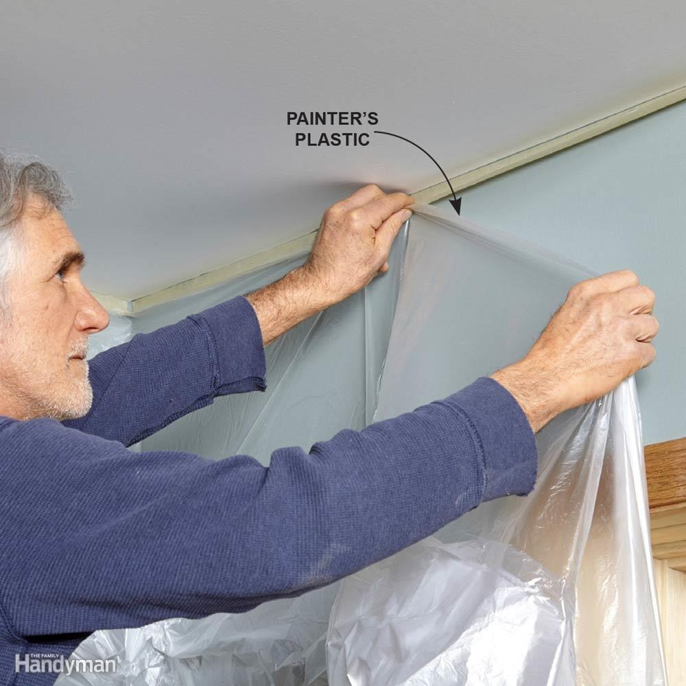 bảo vệ tường khi sơn trần