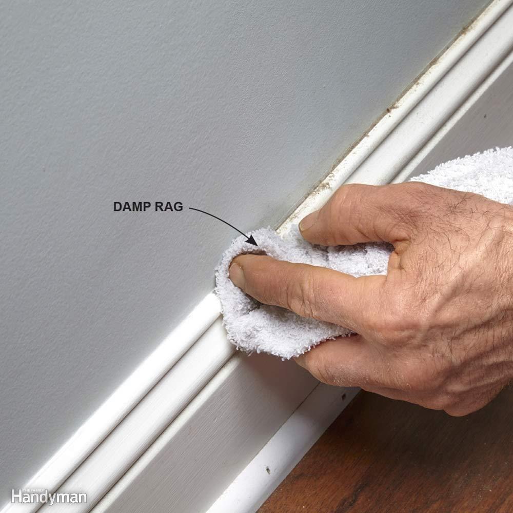 làm sạch bề mặt trước khi sơn