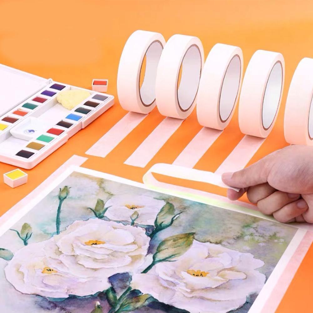 Băng keo giấy trong mỹ thuật